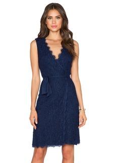Diane von Furstenberg Julianna Two Lace Wrap Dress
