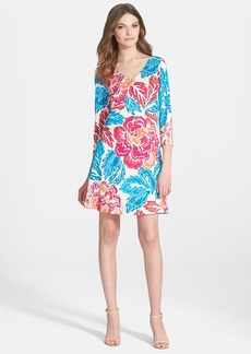 Diane von Furstenberg 'Kaden' Print Silk Shift Dress
