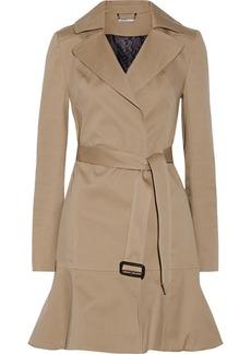 Diane von Furstenberg Kadence cotton-blend twill trench coat
