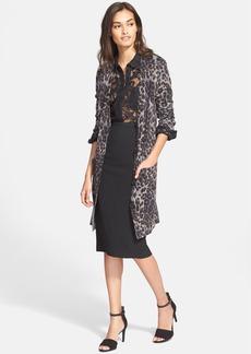 Diane von Furstenberg 'Kalani' Wool Blend Long Cardigan