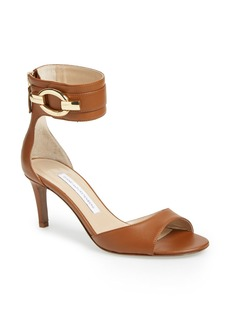 Diane von Furstenberg 'Kara' Leather Sandal (Women)