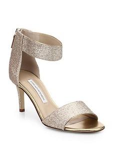 Diane von Furstenberg Kinder Watersnake Ankle-Strap Sandals
