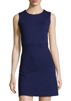 Diane von Furstenberg Knit Scoop-Neck Dress, Purple Haze