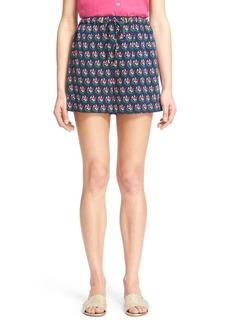 Diane von Furstenberg 'Kyle' Floral Print Shorts
