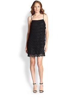 Diane von Furstenberg Lace-Tier Dress