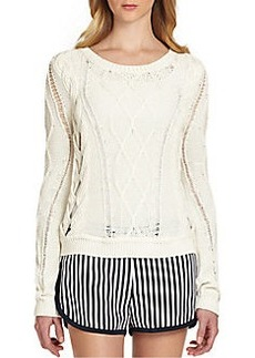 Diane von Furstenberg Lakota Chunky Knit Sweater