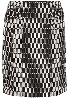 Diane von Furstenberg Laury jacquard-knit skirt