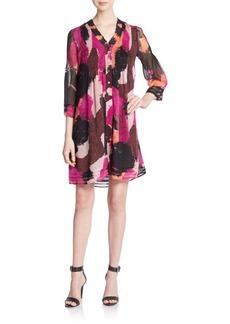 Diane von Furstenberg Layla Silk-Chiffon Shirtdress