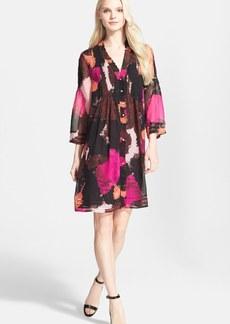 Diane von Furstenberg 'Layla' Silk Trapeze Dress