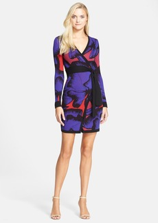 Diane von Furstenberg 'Leandra' Pattern Wrap Dress