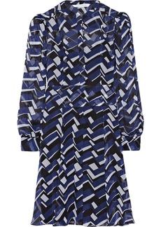 Diane von Furstenberg Leandri printed silk-chiffon dress