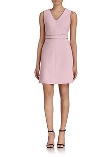 Diane von Furstenberg Leelou Contrast Trim Dress