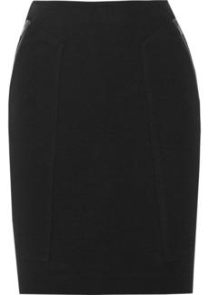 Diane von Furstenberg Leona stretch-jersey skirt