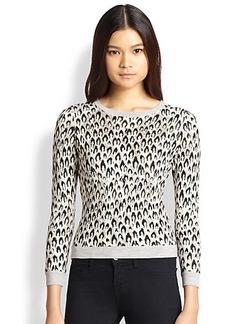 Diane von Furstenberg Leopard-Patterned Sweater