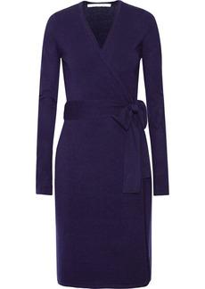 Diane von Furstenberg Linda wool-blend wrap dress