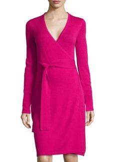 Diane von Furstenberg Linda Wrap Dress, Pink Dahlia