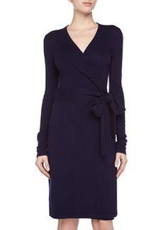 Diane von Furstenberg Linda Wrap Dress, Purple Haze