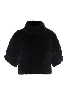 Diane Von Furstenberg Liza fur jacket