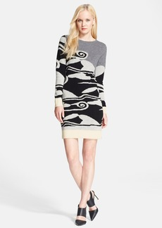 Diane von Furstenberg 'Look 3' Wool Dress