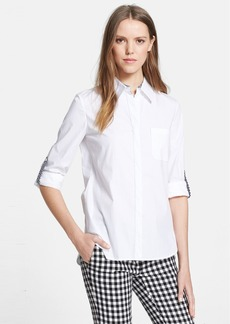 Diane von Furstenberg 'Lorelei 2' Cotton Blend Shirt