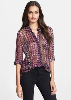 Diane von Furstenberg 'Lorelei 2' Print Silk Blend Shirt