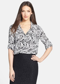 Diane von Furstenberg 'Lorelei Two' Print Silk Shirt