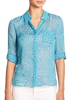 Diane von Furstenberg Lorelei Two Silk Shirt