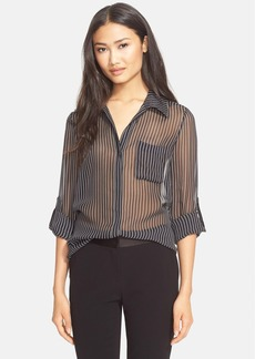 Diane von Furstenberg 'Lorelei Two' Stripe Silk Blouse