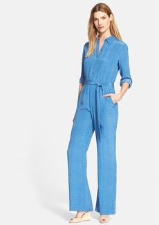 Diane von Furstenberg 'Lori' Belted Silk Jumpsuit