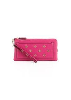 Diane von Furstenberg Love Knot-Front Clutch Bag, Pink