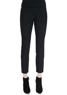 Diane Von Furstenberg Lupa Cropped Leggings, Black
