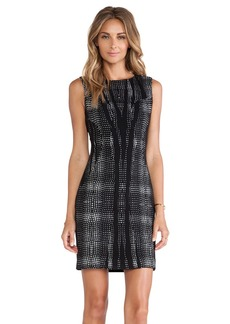 Diane von Furstenberg Mackenzie Shift Dress in Black