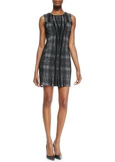 Diane von Furstenberg Mackenzie Sleeveless Body-Conscious Sheath Dress