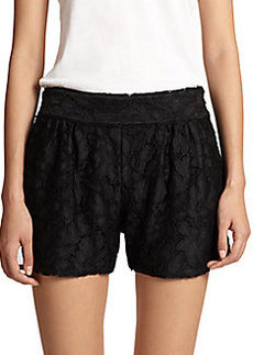 Diane von Furstenberg Madonna Woven Shorts