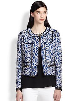 Diane von Furstenberg Maelee Jacquard Jacket