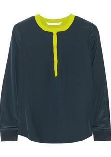 Diane von Furstenberg Maisy silk top