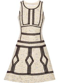 Diane von Furstenberg Margot bouclé mini dress