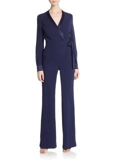 Diane von Furstenberg Margot Wrap Jumpsuit