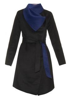 Diane Von Furstenberg Marilyn reversible coat