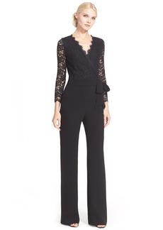 Diane von Furstenberg 'Marlowe' Lace Jumpsuit