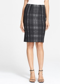 Diane von Furstenberg 'Marta' Knit Pencil Skirt