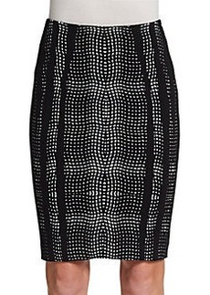 Diane von Furstenberg Marta Paneled Pencil Skirt