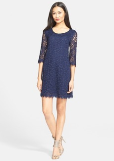 Diane von Furstenberg 'Martina' Lace Shift Dress