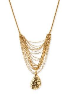 Diane von Furstenberg Martina Multi-Chain Pendant Necklace