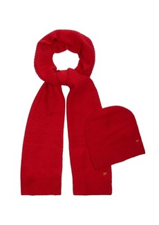 Diane Von Furstenberg Mason hat and scarf