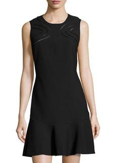 Diane von Furstenberg Maureen Cutout-Front Knit Dress