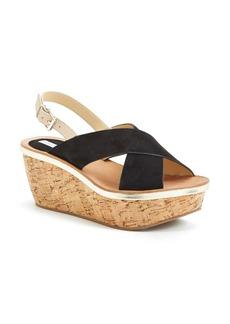 Diane von Furstenberg 'Maven' Wedge Sandal (Women)