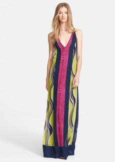 Diane von Furstenberg 'McKinley' Print Silk Maxi Dress