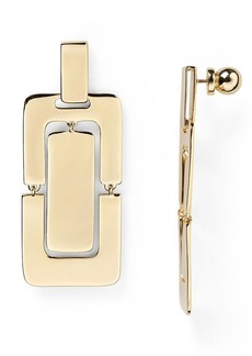 DIANE von FURSTENBERG Megan Geometric Drop Earrings