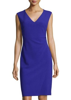 Diane von Furstenberg Megan V-Neck Sleeveless Dress